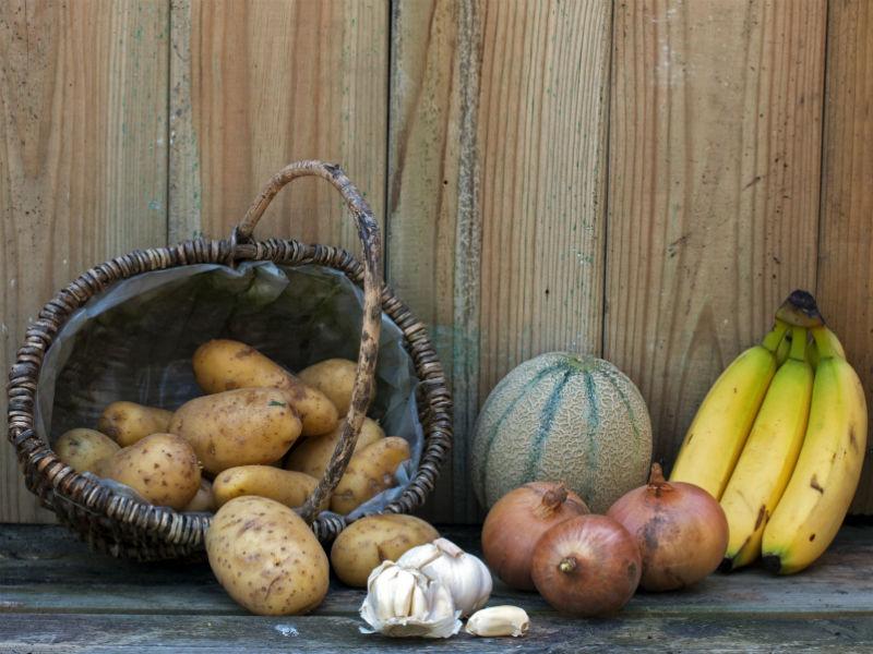 Kartoffel, Obst, Gemüse