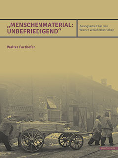 "Cover ""Menschenmaterial: Unbefriedigend"""