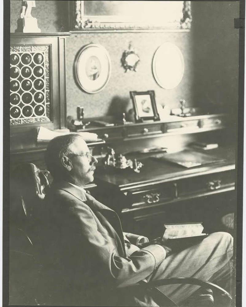 Peter Rosegger um 1910
