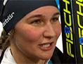 ZOI biatlon 15 km Dunja Zdouc intervju