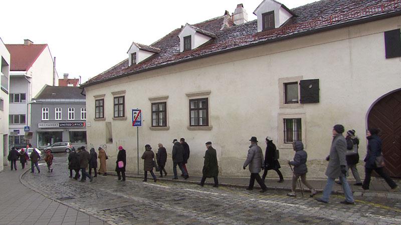 Welttag der Fremdenführer, in Eisenstadt mit Fremdenführerin Verena Werner