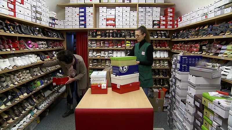 Handel Schuhgeschäft