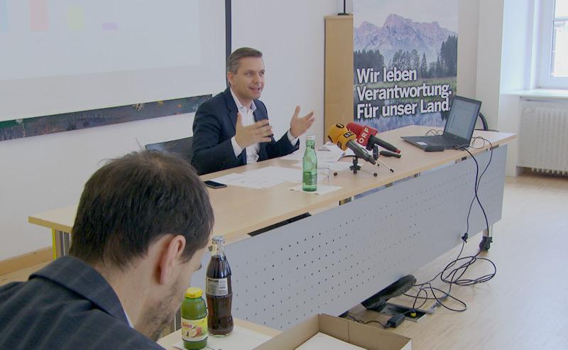 ÖVP-Landesgeschäftsführer und Landtagsabgeordneter Wolfgang Hattmannsdorfer