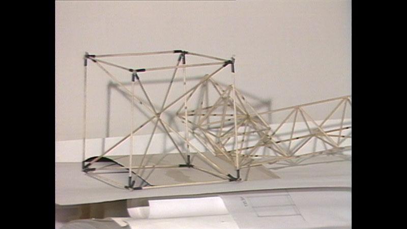 Modell Gerüst Rubik Cube