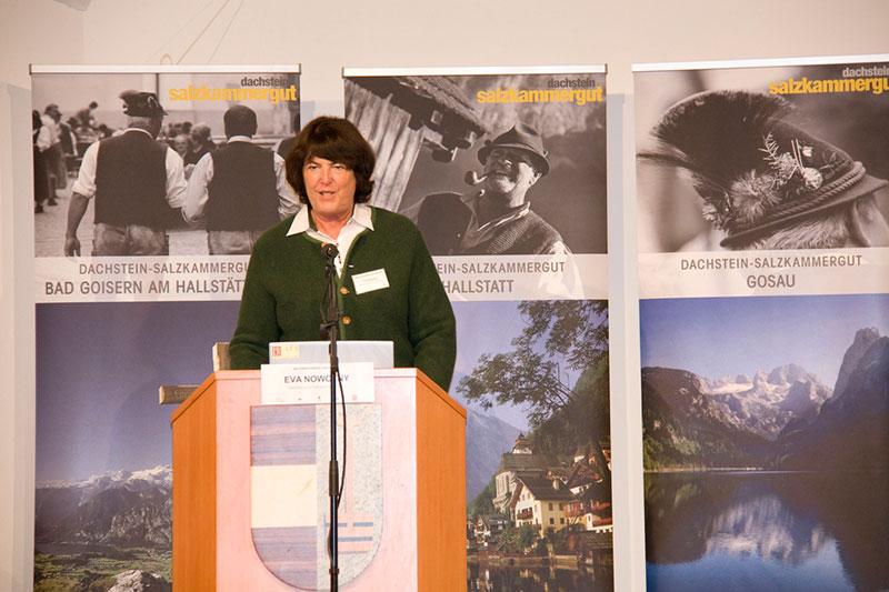 Dr. Eva Nowotny, Präsidentin der Österreichischen UNESCO Kommission beim Welterbekongress