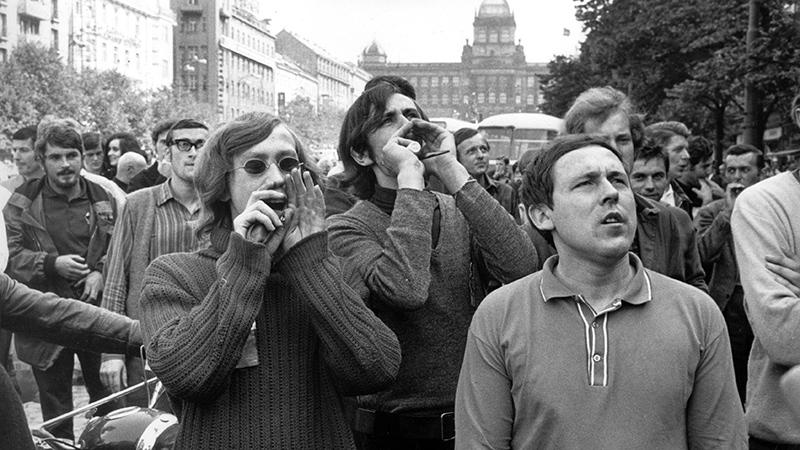 Prager Frühling Proteste