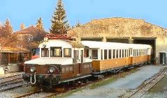 Pressburger Bahn im Eisenbahnmuseum Schwechat