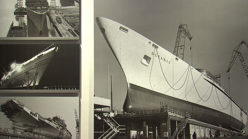 Werft Monfalcone Museo Cantieristica MuCA