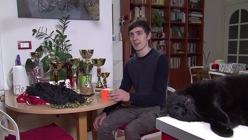 Mattia Furlan Rubik Cube Monfalcone
