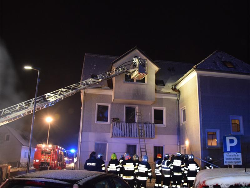 Wohnhausbrand in Eggersdorf