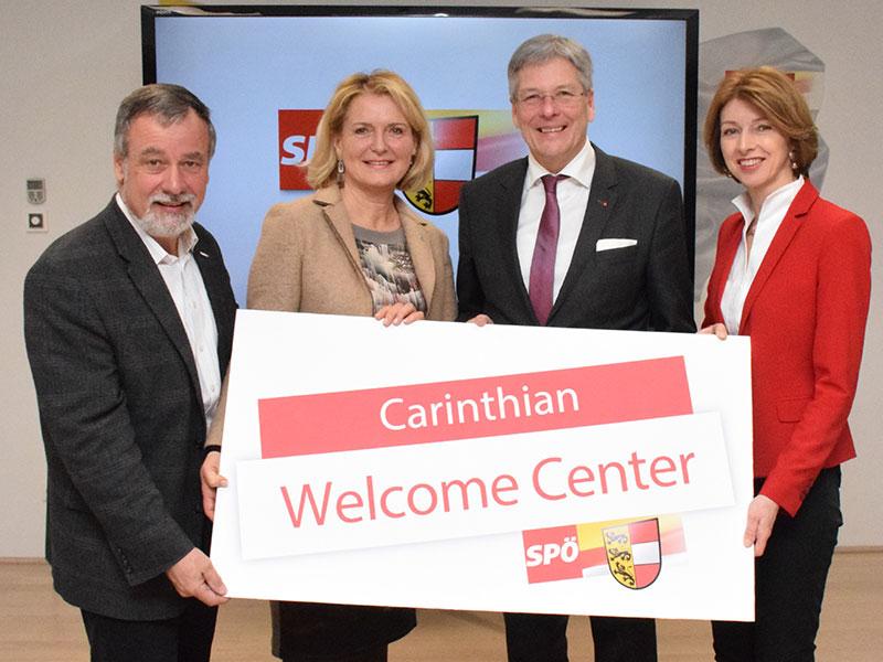 SPÖ Kärnten mit Carinthian Welcome Center