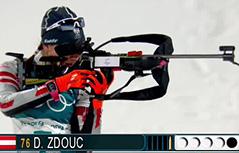 Dunja Zdouc ZOI zimske olimpijske igre Koreja Pjengčang pyeongchang biatlon sprint