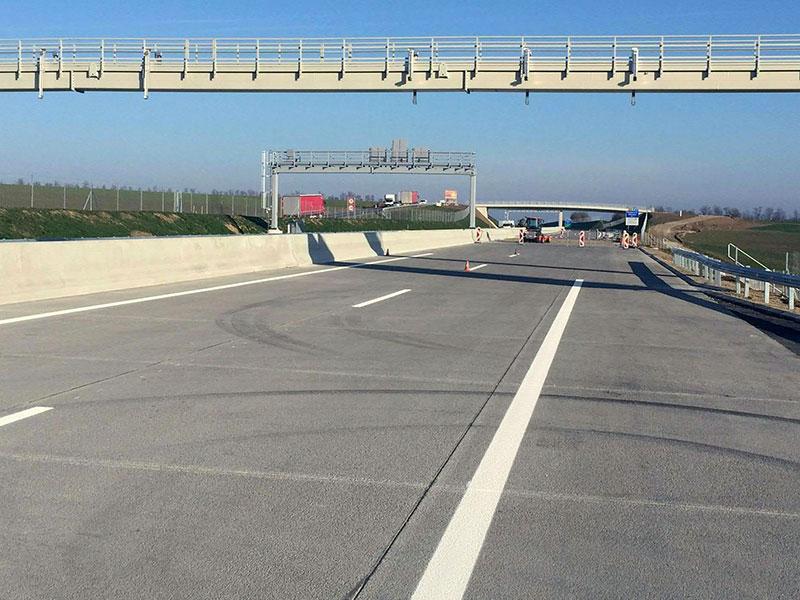 Nordautobahn A5 im Weinviertel