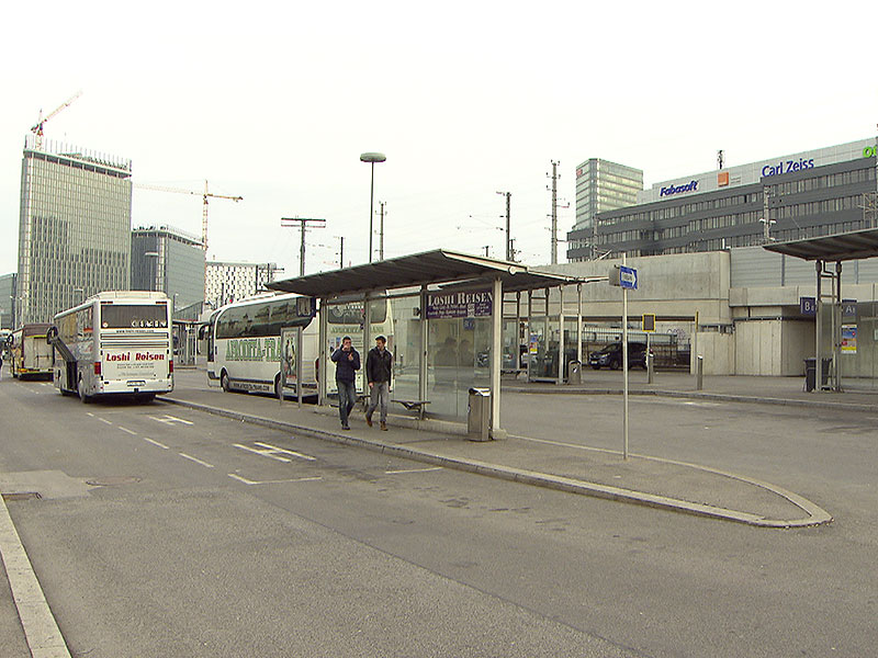 Busparkplatz Waldmanngründe am Hauptbahnhof