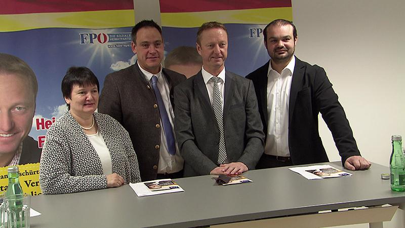FPÖ-Kandidaten Landwirtschaftskammerwahl