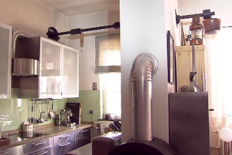 Küche im ehemaligen Milchhaus