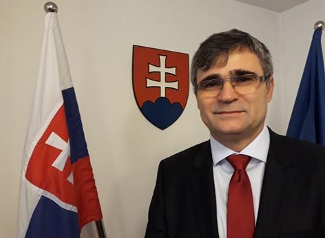Peter Misik, Botschafter der Slowakischen Republik in Österreich