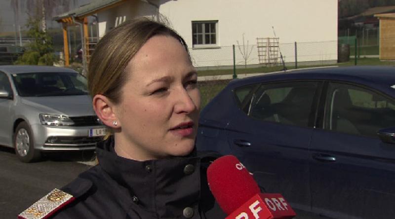 Polizeisprecherin Simone Mayr-Kirchberger