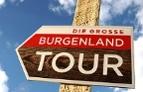 """Wegweiser """"Die große Burgenland Tour"""""""
