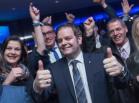 Wahlfeier der FPÖ nach der Landtsgwahl