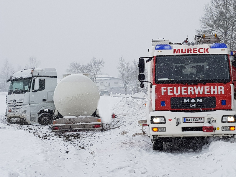 Unfall in Mureck