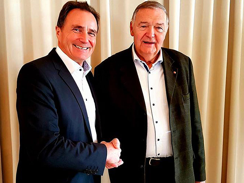 Helmut Bieler und Johann Grillenberger