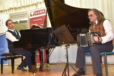 Paul Gulda und Ferry Janoska