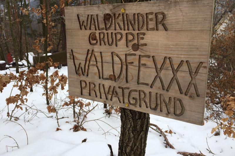 Waldkindergarten Egelsee Gruppe Waldfexxx