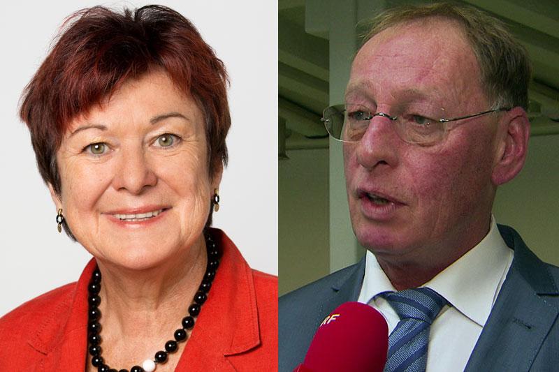 Susanne Kurz und Erwin Seeauer