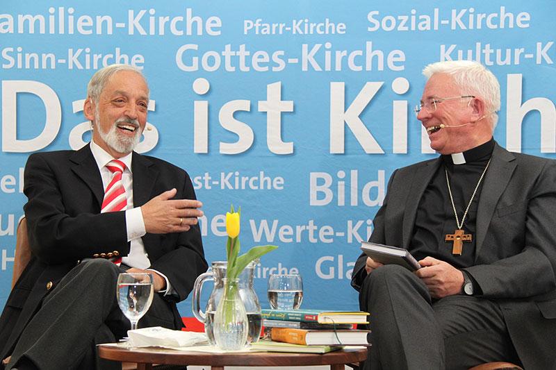 Heinz Nußbaumer im Gespräch mit Salzburgs Erzbischof Franz Lackner