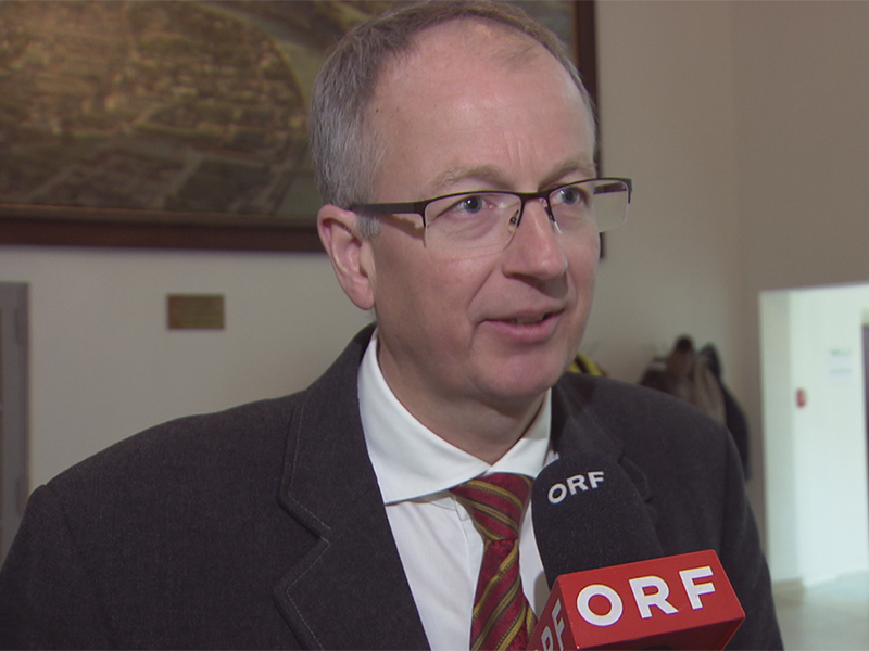 Manfred Sampl, Bürgermeister von St.Michael (ÖVP)