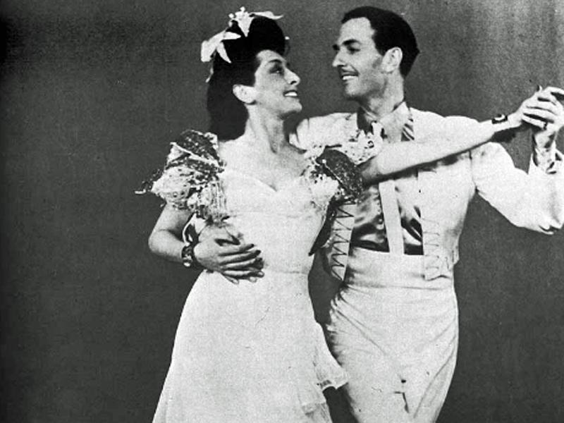 Rosita Serrano und Gustav Wally