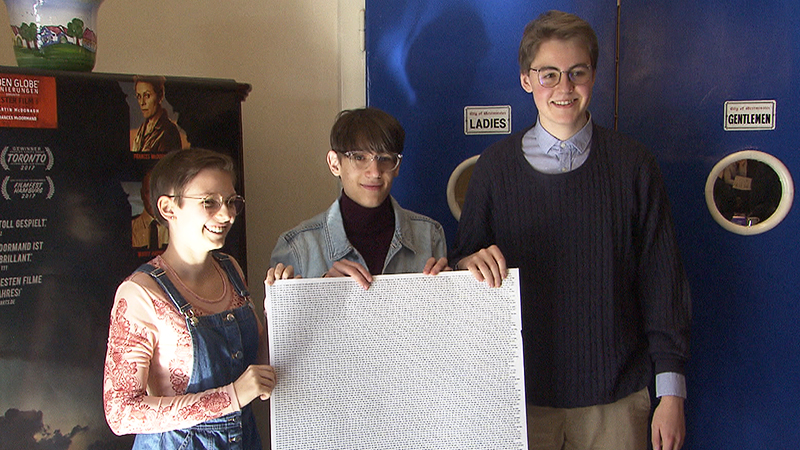 Annika Limbach, Elias Märk und Nikolai Liskutin