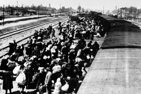 transport do Osvětimi