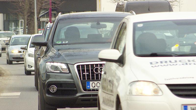 Autofrühling 2018 Verkehr Diesel