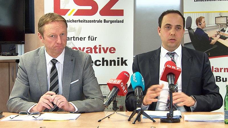 Johann Tschürtz und Christian Spuller