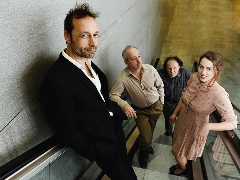 Der Zerrissene, Gerald Votava, Michael Scherff, Haymon Maria Buttinger, Josephine Bloeb