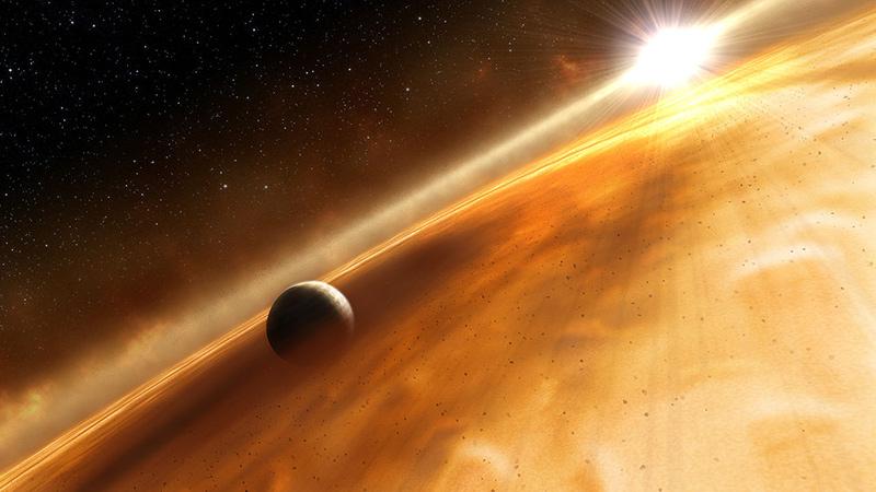 Exoplanenten Planet Formalhaut