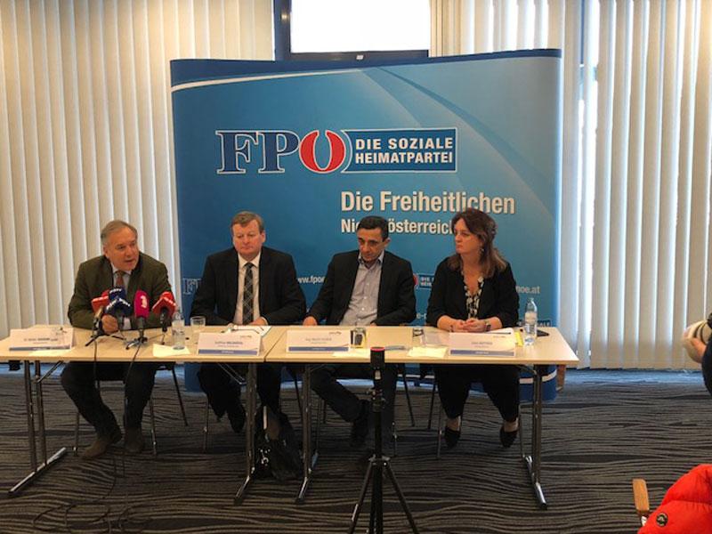 Klubklausur FPÖ Krems Waldhäusl Huber Rosenkranz