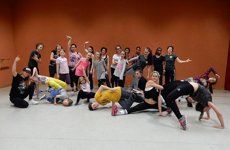 Tanzprojekt Foto zwei