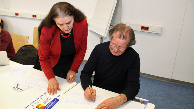 Marijana Grandić i Manfred Nowak