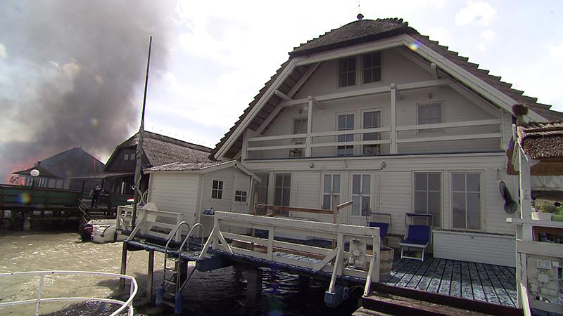 Haus im See eröffnet wieder nach Großbrand