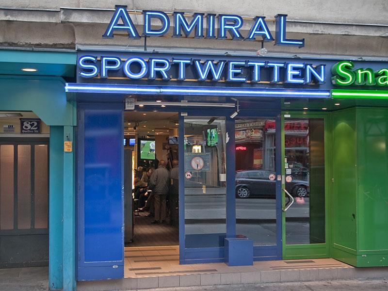 Admiral Sportwetten Wettlokal
