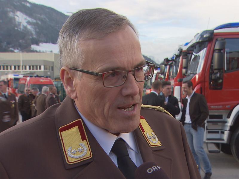 Landesfeuerwehrkommandant Leopold Winter