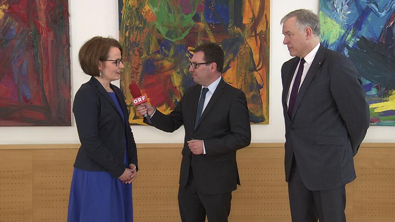 ÖVP Regierung neue Mitglieder Interview