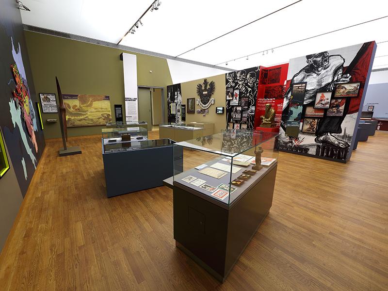 Haus der Geschichte Sonderausstellung Anschluss 1938