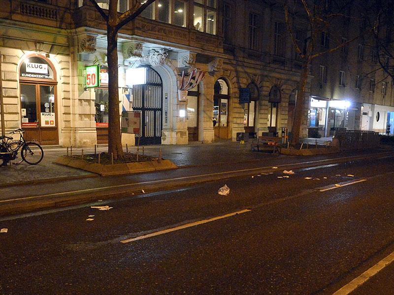 In Wien-Leopoldstadt ist es am 07.März 2018 Mittwochabend zu einer blutigen Messer-Attacke mit drei Schwerverletzten gekommen