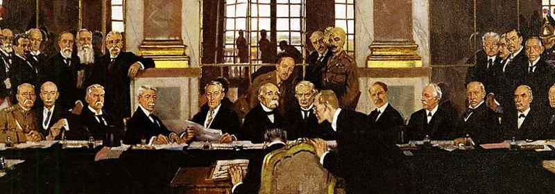 Spiegelsaal Versailles Friedenskonferenz