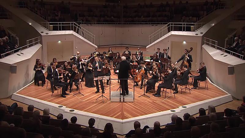 Orchesterakademie der Berliner Philharmoniker, Berliner Philharmonie