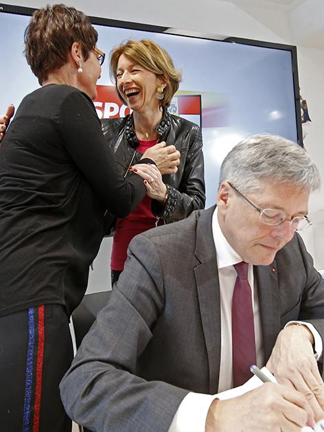 SPÖ Parteivorstand Kaiser Prettner Schaunig